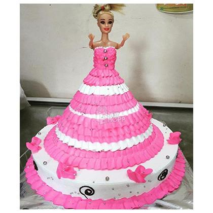 Barbie Cakes Design 1 1 5 Kg At Rs 1550 00 From Vamigos Vikroli