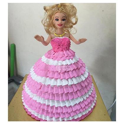 Barbie Cakes Design 2 1 5 Kg At Rs 1550 00 From Vamigos Vikroli