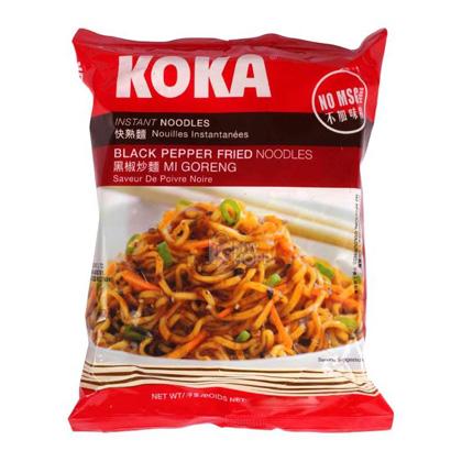 Black Pepper Noodles Koka