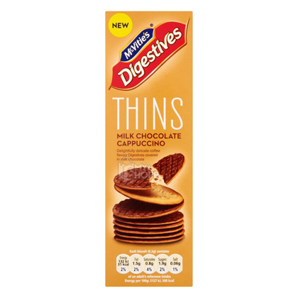 Digestive Chocolate Cappuccino Hins Mcvities