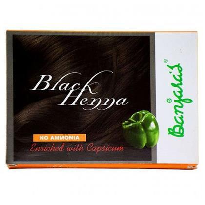 6e152271ed8ff Black Henna Caps-Banjara's-20 gm at Rs.24.25 from Divine Super Market  Kovalam Trivandrum Best Price From Kerala