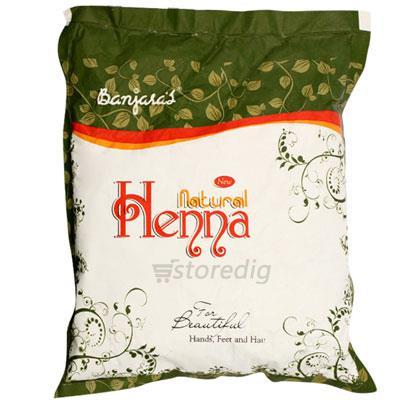 0bff273664f69 Natural Henna Powder-Banjara's-100 gm at Rs.29.10 from Divine Super Market  Kovalam Trivandrum Best Price From Kerala