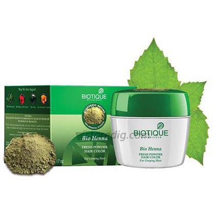 Henna Leaf Hair Colour Powder Biotique 90 Gm At Rs 194 03 From